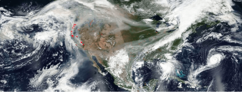 Here in Colorado, we experience days and weeks of smoke in the air. How does it affect us all, even when we are safe from the actual fires miles aways…
