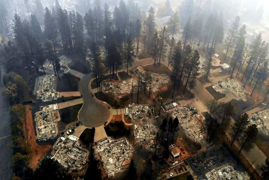After Camp Fire, Paradise, CA, Works on Long-term Recovery