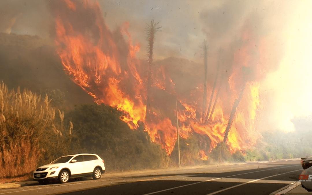 Study Shows California Rain Starting Later, Extending Fire Season