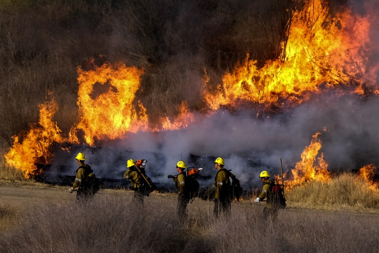 Wildfires erupt after hottest week in history across parts of the West ignited them