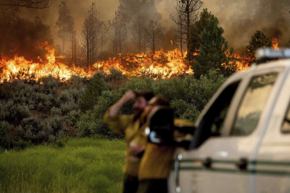Map shows where every wildfire is burning in California right now