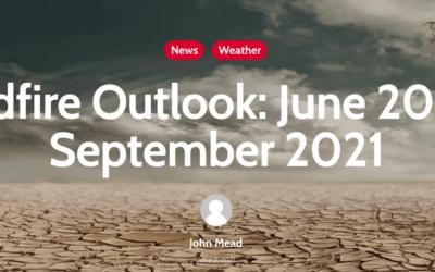 Wildfire Outlook: June 2021-September 2021